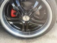 "selling my 20"" boss motorsport wheels good condition no"