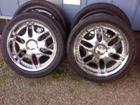 "im selling my 20"" detata rims that have never seen a"