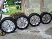 "I have a set of 20"" Rims for sale. They are American"