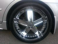 "Almost NEW 20"" rims . Purchased Brand NEW For $2500.00"