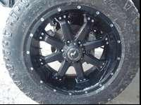 "I have four 20"" rims with 33"" wrangled duratrac tires"
