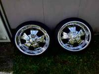 The rims are 5 lug universal and fits on most 5 lug