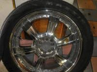I have these sweet rims and tires that are in great