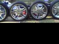 "20"" Rims & Tires For Sale... 5 Months old with Less"