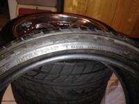 Set of 20' Armano rims & tires 380$ or best offer