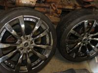 "SELLING A SET OF 20"" RIMS 5X114.3 FITS CARS LIKE 5 LUG"