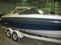 This is a 1989 Rinker 206 Captiva.  Mercruiser 5.0L