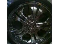 "I have a set of 20"" chrome rims for sale, 5 lug- w/2"