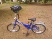 "20"" Schwinn Hinge Bike in excellent condition. It folds"
