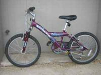 "Schwinn Twister 20"" Girl's Mountain Bike 7 Speed Front"