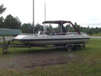 Boat is 20' dual console design and was built in 2004.