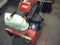 "Selling my extra snowblower. 20"" self-propelled"