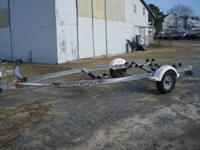 1995 Shorelandr' Single Axle, galvanized, roller