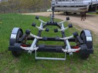 20' Shoreline roller type boat trailer, with single