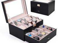This is our double levels 20 slots watches boxes for