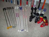 I have fifteen pairs of skis for sale for $20 each. I