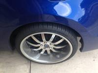 "Set of 4 staggered 20"" wheels (NO TIRES) for Hondas,"