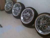 "Selling a set of 20"" super poke 84z all 4 wheels are A1"