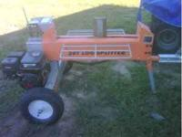 20 ton log splitter with 6.5 motor towable, splits