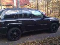 20'' Black XD778 rims for Chevy Trailblazer, brand new.