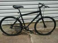 "Trek Soho single speed,20"" frame,matte black,upgraded"