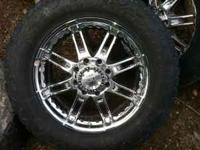 "I have 4 20"" truck wheels off of a 04 dodge 2500. They"