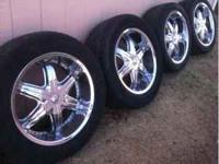 Have a set of 5 lug universal rims, 1st bolt pattern