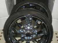 MUST SELL!!!!!!!! REDUCED PRICE!!!! Set of 4 tire and