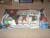 Up for sale is a VERY RARE Minnesota Wild poster from