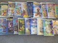 VHS tapes $2 each or $30 for all. Call or text if