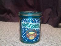 It is a vintage Milky Way Tin Canister which once held