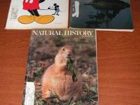 Large lot of Natural History Magazine Total of 20