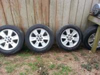"20"" Tires and Wheels that came off of 2010 ford fx4."