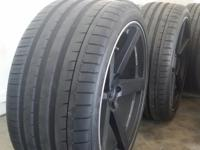 """I have some 20"""" staggered Koko Kuture wheels for sale"""