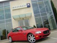 21,796 Miles Rosso Mondiale Exterior with Nero Leather