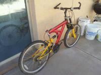 "Up for sale is a X 24"" MOUNTAIN BIKE (w/ WEINMANN RIMS)"