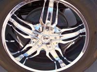 20 x 9 Milanni Phoenix 458 20 inch Chrome Wheels ? Bolt