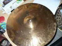"20"" Zildjian Edge Ride cymbal. Sounds great. 75dollars"