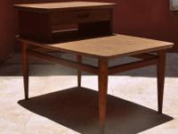 Wonderful vintage side or end table with drawer, which