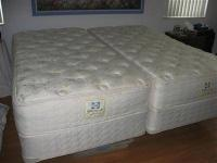 I have 2 twin mattresses with matching box springs for
