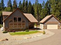 Cascade Chalet is a lovely, new cabin just minutes from