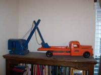 $200 for the blue trencher/hoe - the original rubber