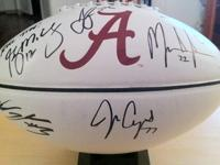 THIS COULD BE YOURS TODAY!Autographed Nike Football -