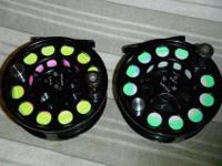 I have (2) Bauer M3 fly reels for sale both are in all