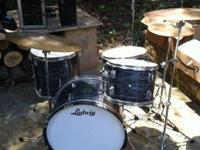 I have for sale a replica of Ringo Starr's drum set.