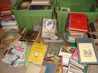 200+ books for sale on Saturday, September 17, at