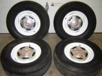 These are a matching set of rims pulled from a 84 gmc