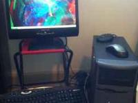 "I am selling a Dell Dimension Desktop with 17"" monitor"