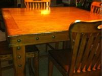 I have a 7 piece counter height dining set. It has 6