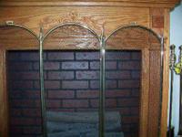 Nice Fireplacenice oak fireplace mantle ready for